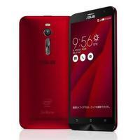 【再生品】ASUS ZenFone2 (ZE551ML-RD32S4) 32GB Red 【RAM4GB 国内版 SIMフリー】画像